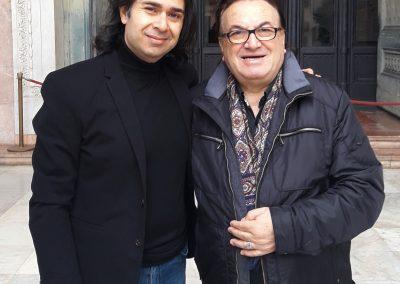 Con Antonio Fortunato