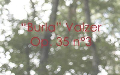 """""""Burla"""" Valzer Op. 35 n. 3"""