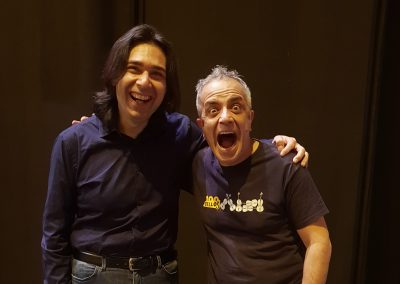 Con Giovanni Sollima