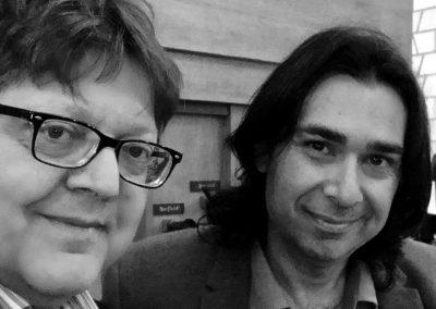 Con Marco Betta