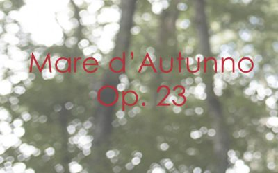 Mare D'Autunno Op. 23