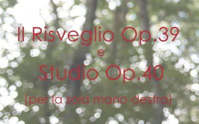 Il Risveglio Op. 39  &  Studio Op. 40
