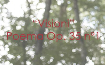 """""""Visioni"""" Poema Op. 35 n. 1"""