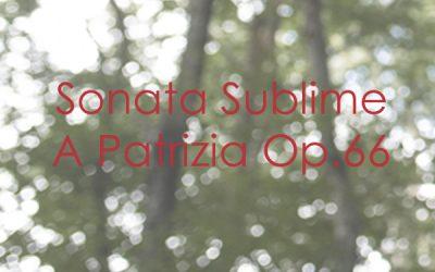 Sonata Sublime A Patrizia Op. 66