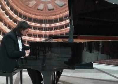 """Recital Teatro Massimo e conferimento """"Tessera Preziosa Mosaico di Palermo"""" 2019"""
